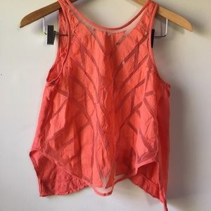 Free People split back top